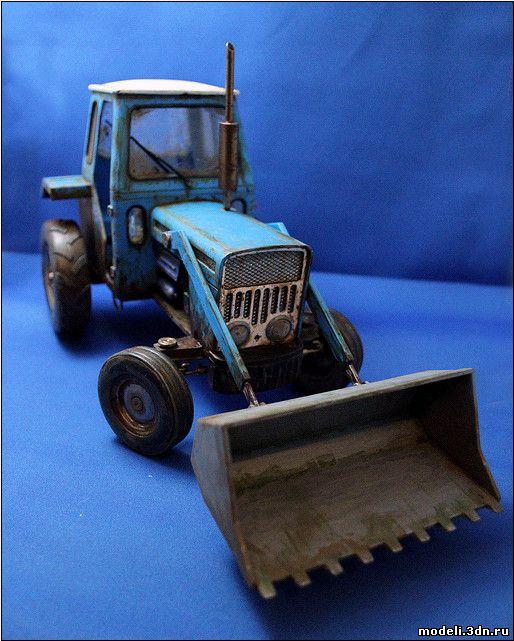 Модели трактора своими руками